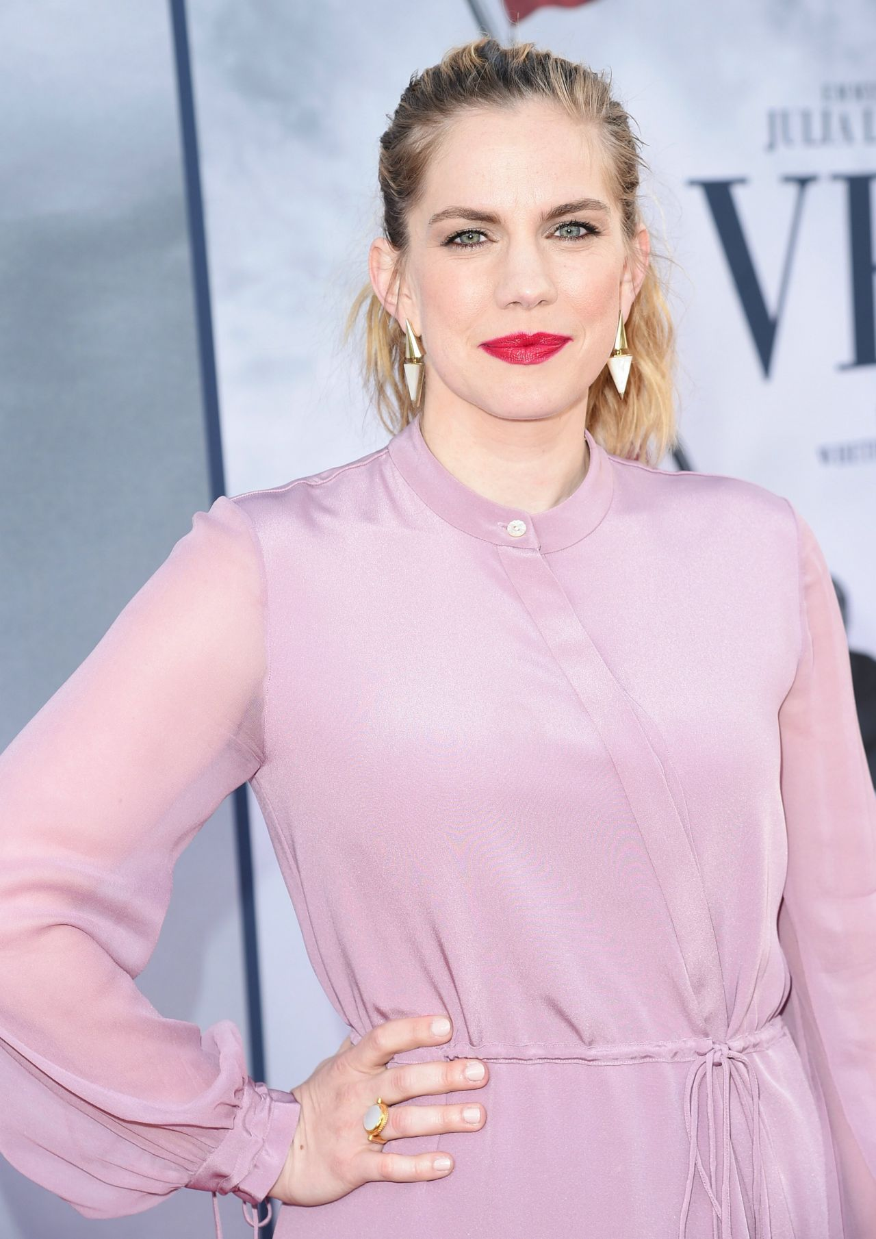Anna Chlumsky At Veep Tv Show Fyc Screening 05 25 2017