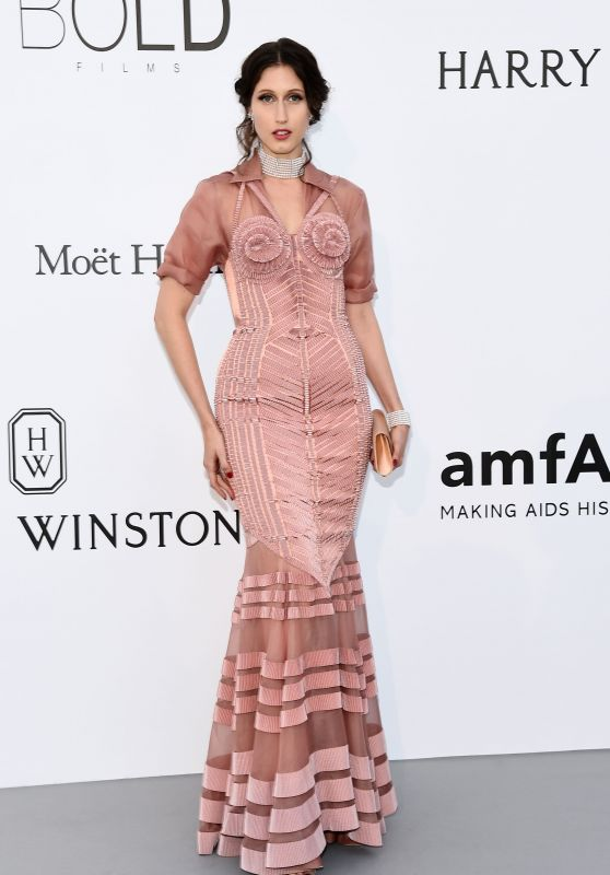 Anna Cleveland – AmfAR's 24th Cinema Against AIDS Gala – Cannes Film Festival 05/25/2017