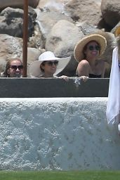Anna Kendrick in a Swimsuit at a Hot Tub in Los Cabos 05/14/2017