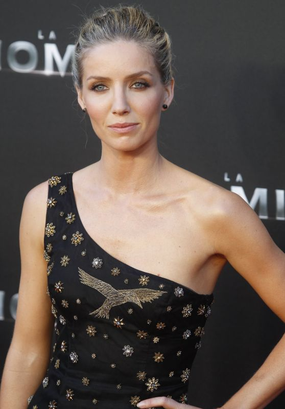 "Annabelle Wallis - ""The Mummy"" Movie Premiere in Madrid 05/29/2017"