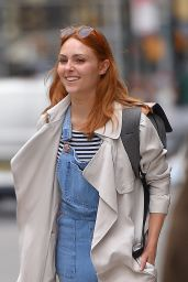 AnnaSophia Robb in Overalls - Out in NYC 05/11/2017