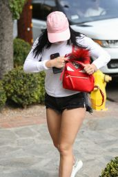Ariel Winter in Short Shorts   Arriving at the 901 Salon on Melrose Place 05/17/2017