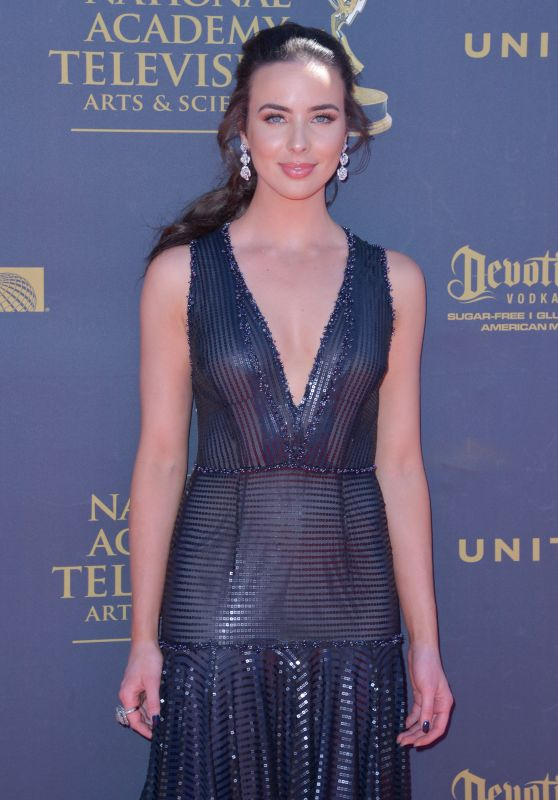 Ashleigh Brewer – Daytime Emmy Awards in Los Angeles 04/30/2017