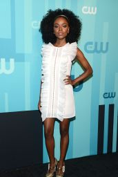 Ashleigh Murray – The CW Network's Upfront in New York City 05/18/2017