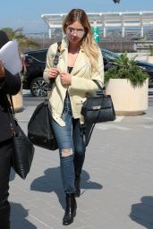 Ashley Benson Casual Outfit - Packs up and Leaves the Cannes Film Festival in France 05/24/2017