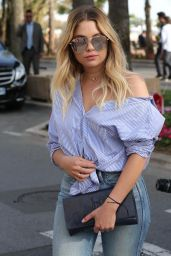 Ashley Benson - Out in Cannes 05/21/2017
