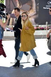 Ashley Benson Street Fashion - Arriving at Martinez Hotel in Cannes 05/20/2017