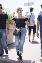 Ashley Benson Street Style - Cannes, France 05/23/2017