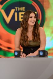Ashley Graham Appears on The View TV Show in New York, May 2017