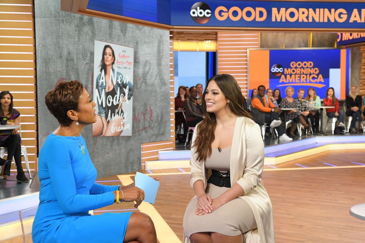 Good Morning America New York : Ashley graham on good morning america in new york may