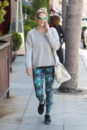Ashley Greene Street Style - On the Phone in Beverly Hills 05/08/2017
