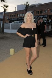 Ashley James at the Opening of Playa Padre in Marbella 05/27/2017