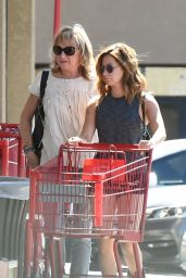 Ashley Tisdale - Grocery Shopping With Her Mom at Whole Foods and Trader Joes in LA 04/29/2017