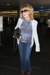Barbara Eden - Arrives at LAX in Los Angeles 05/18/2017