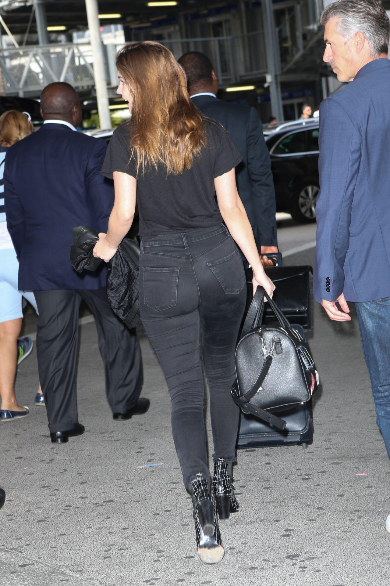 Abc Las Vegas >> Barbara Palvin Travel Outfit - Arriving at Nice Airport 05 ...