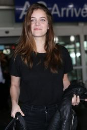 Barbara Palvin Travel Outfit - Arriving at Nice Airport 05/22/2017