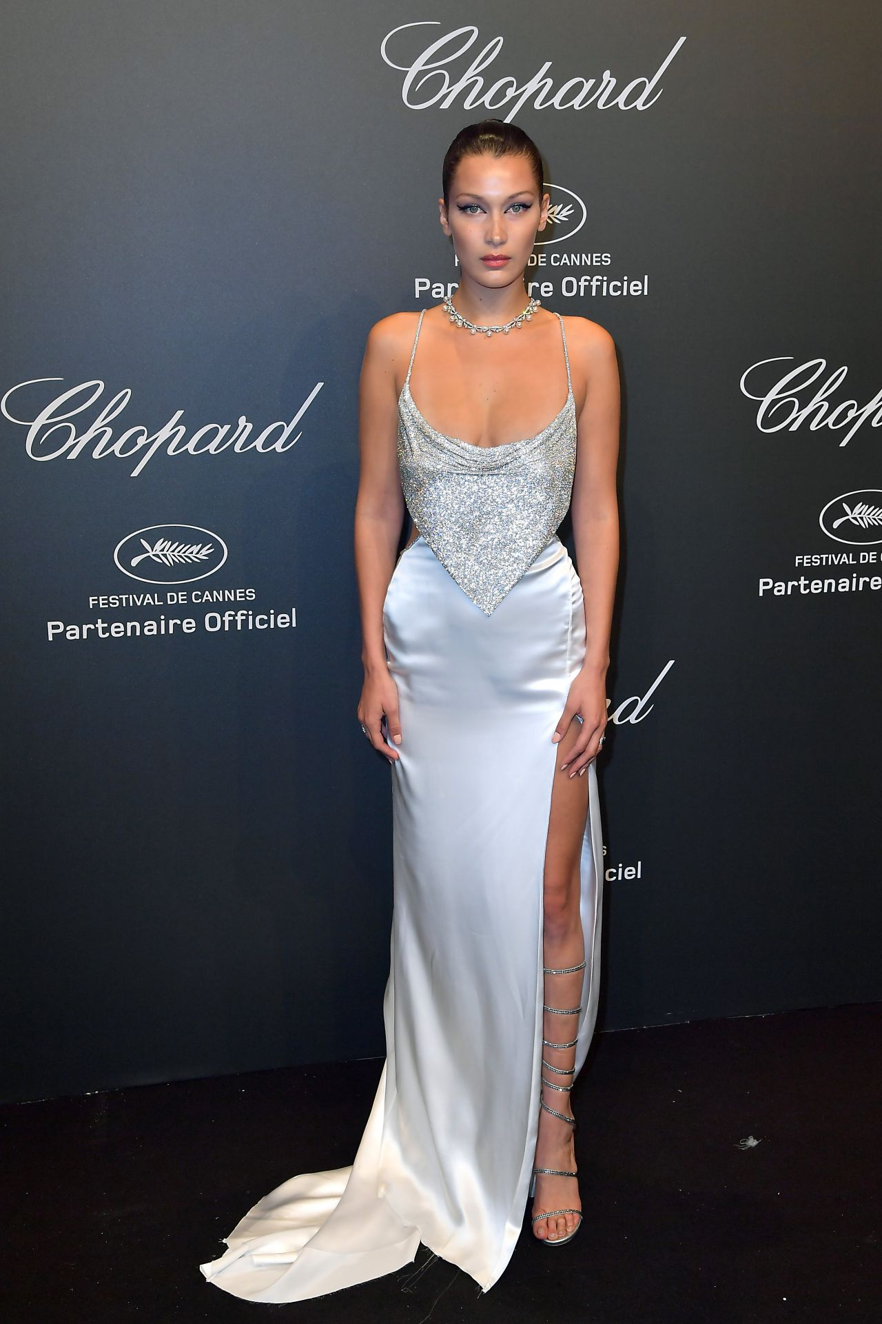 Bella Hadid at Chopard Space Party in Cannes, France 05/19 ...