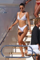 Bella Hadid in Bikini on a Yacht, Cannes 05/20/2017