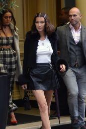 Bella Hadid - Leaving Her Hotel in London 05/12/2017