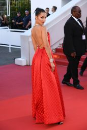 "Bella Hadid on Red Carpet - ""Okja"" premiere at Cannes Film Festival 05/19/2017"