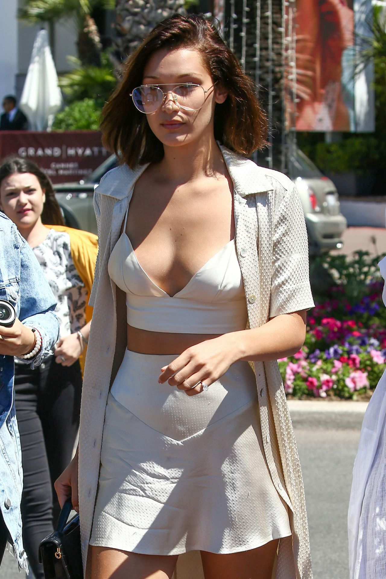 Bella Hadid  Style - Out in Cannes 05/17/2017