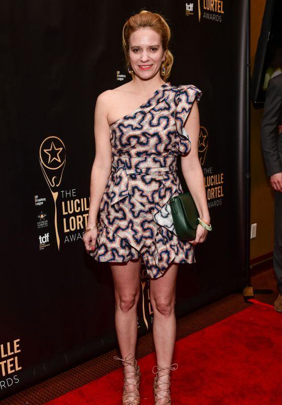 Betsy Morgan – Lucille Lortel Awards in New York 05/07/2017