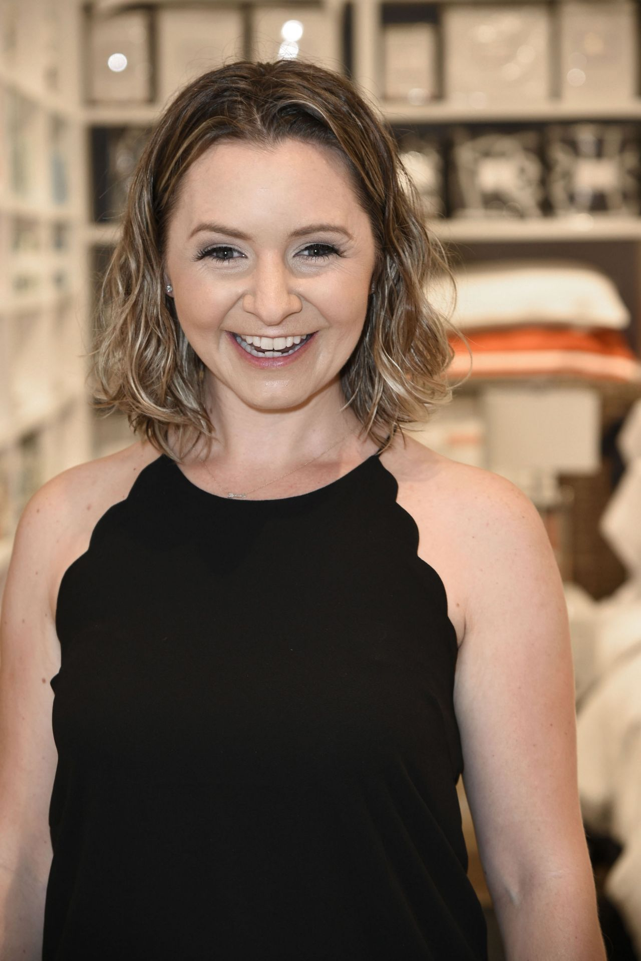Beverley Mitchell Williams Sonoma Home Store Opening In