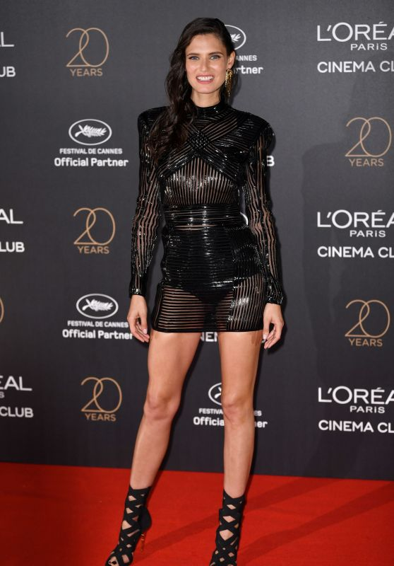 Bianca Balti on Red Carpet – L'Oreal 20th Anniversary Party in Cannes 05/24/2017