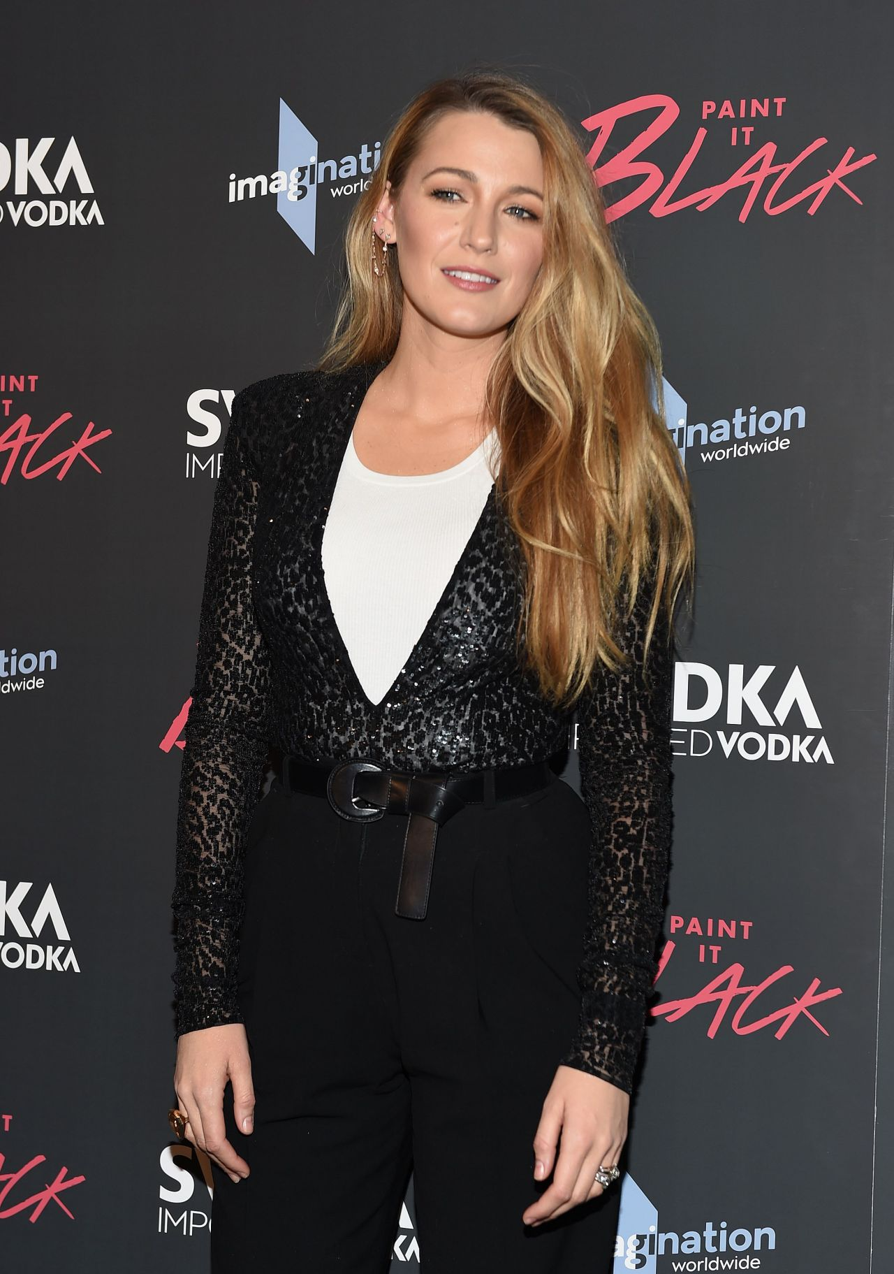 Blake Lively Paint It Black Screening In Ny 05 15 2017