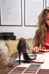 Brec Bassinger - BREC X JDRF SHOE COLLABORATION by GuiltySoles, May 2017