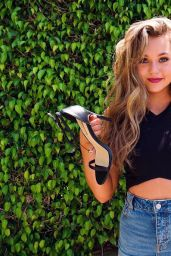Brec Bassinger Social Media Pics and Video 05/27/2017