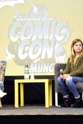 Brighton Sharbino at German Comic Con, Munich 05/27/2017