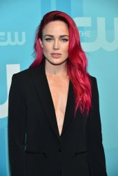 Caity Lotz – The CW Network's Upfront in New York City 05/18/2017
