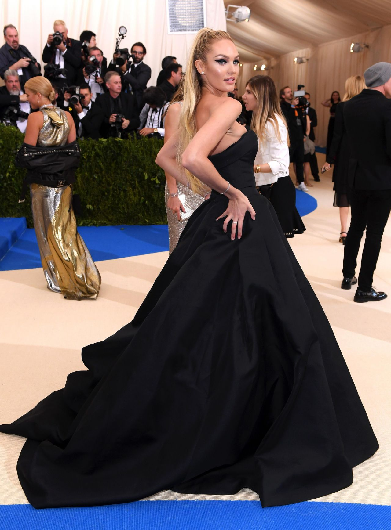 Image result for candice swanepoel met gala