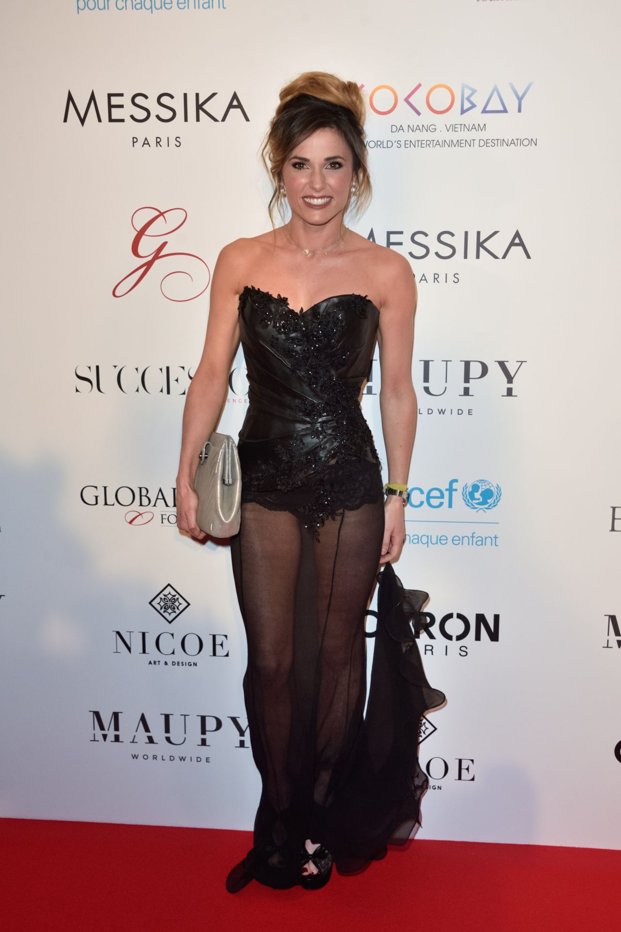 Capucine Anav On Red Carpet Global Gift Gala In Paris 05