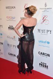Capucine Anav on Red Carpet - Global Gift Gala in Paris 05/16/2017