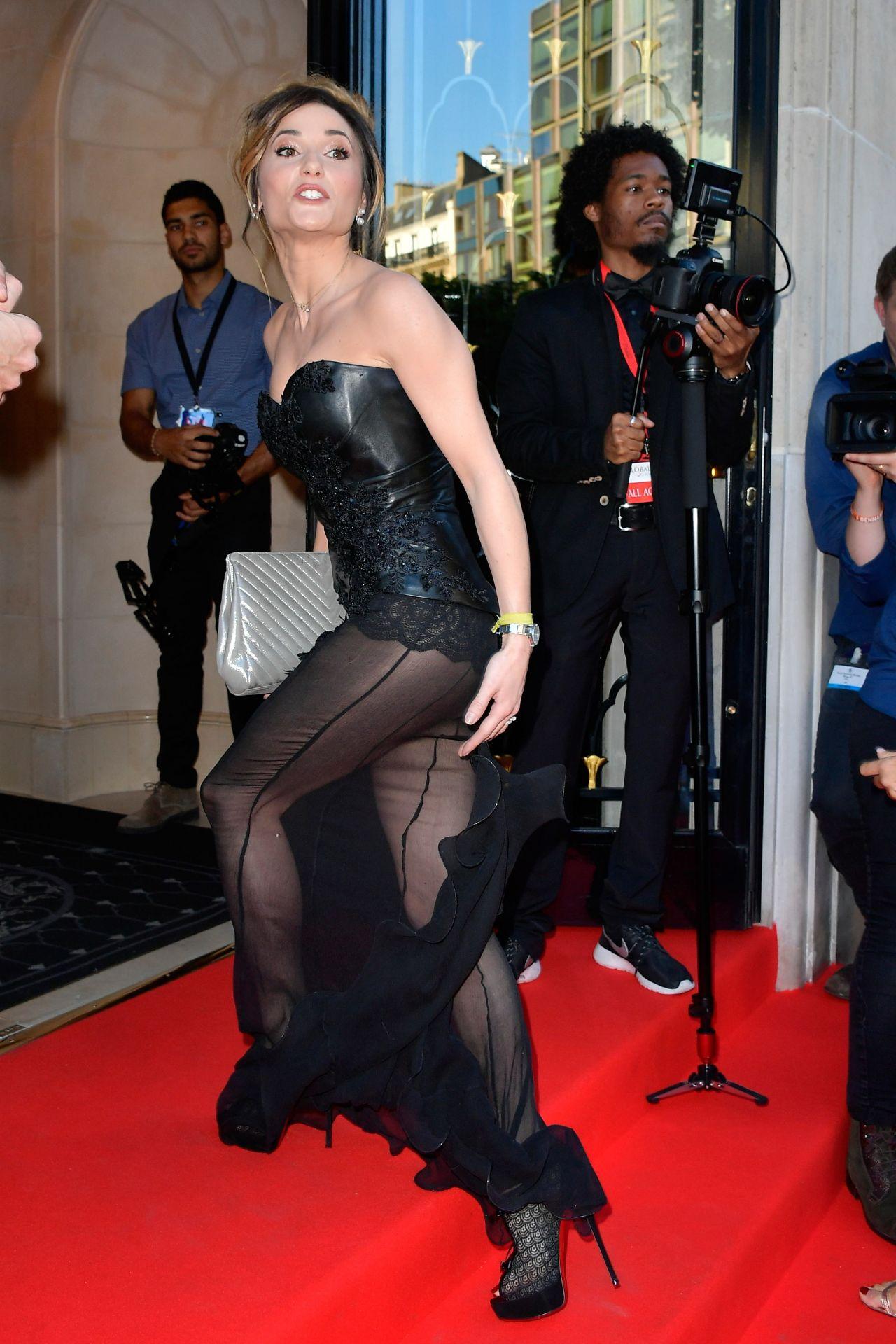 Capucine Anav On Red Carpet Global Gift Gala In Paris 05