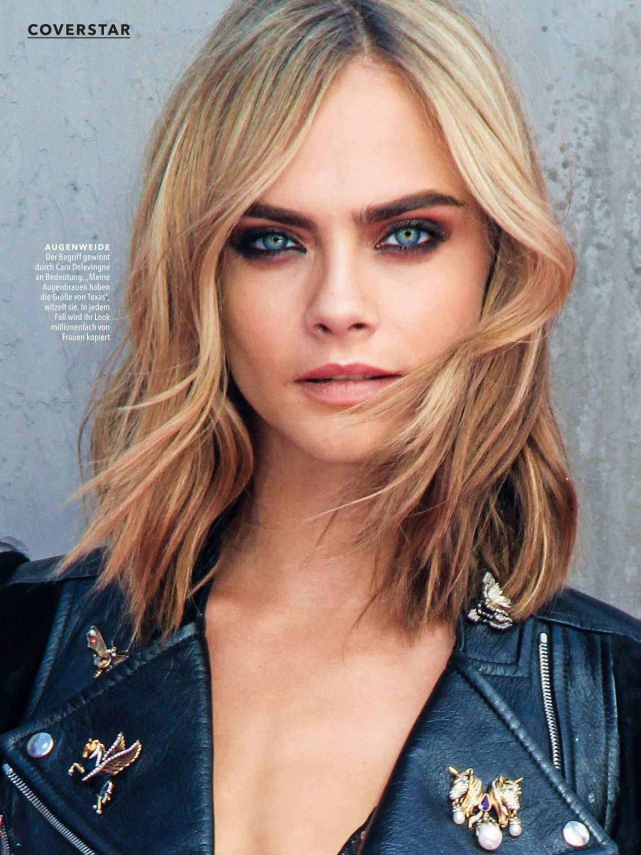 Cara Delevingne Cosmopolitan Magazine Germany June 2017
