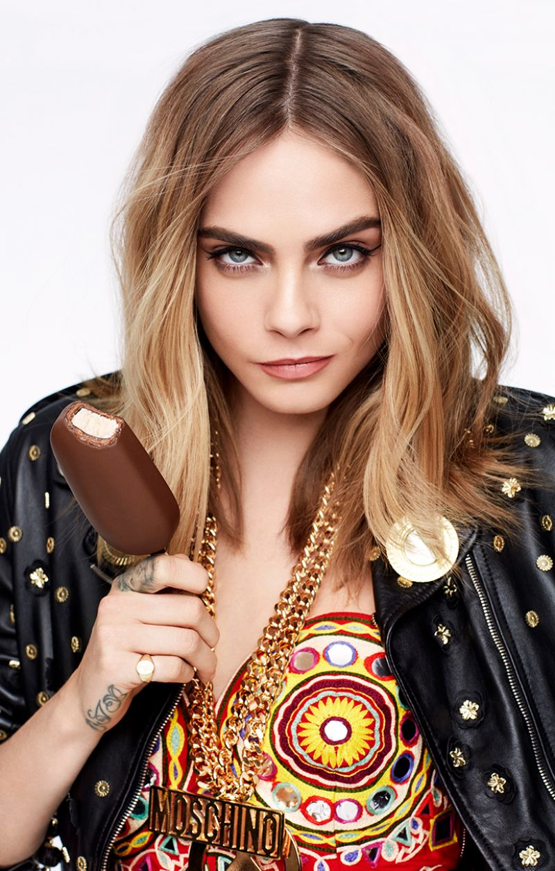 Cara Delevingne Magnum S Ad Campaign And Film Unleash