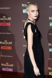 Cara Delevingne – Magnum x Moschino Party at Cannes Film Festival 05/18/2017