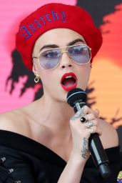 Cara Delevingne - Magnum x Moschino Photocall at Cannes Film Festival 05/18/2017