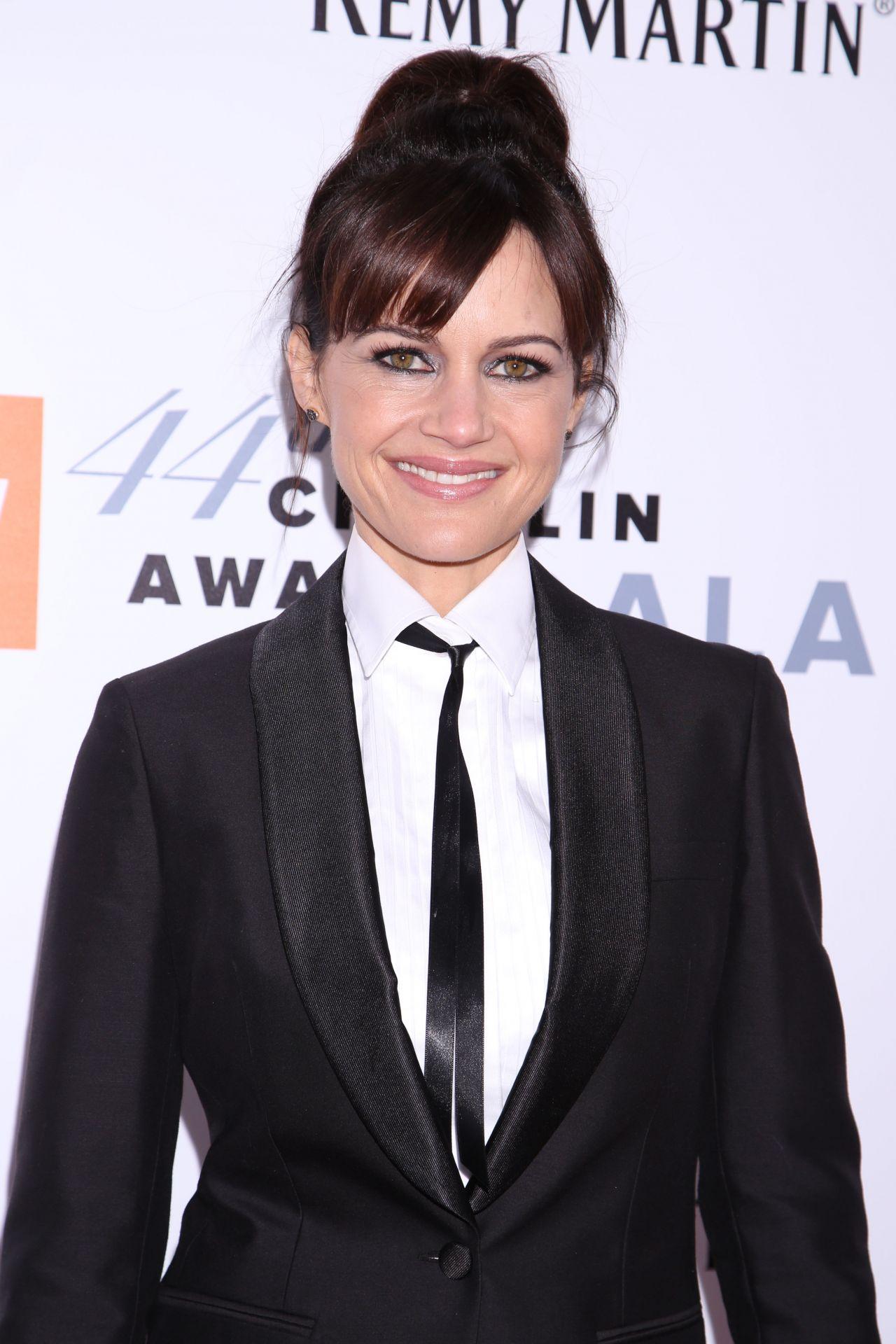 Carla Gugino Chaplin Award Gala In New York 05 08 2017