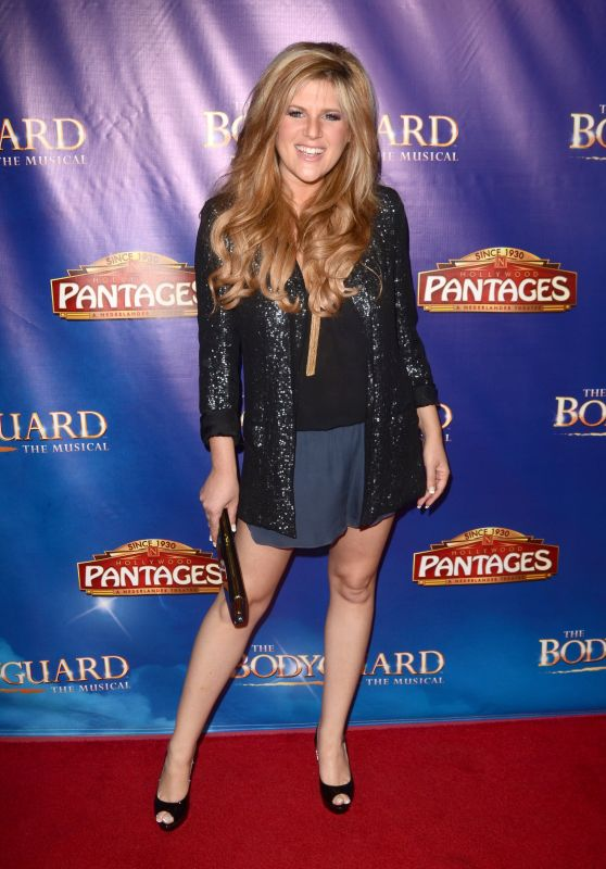 """Carly Robyn Green – """"The Bodyguard"""" Opening Night in Los Angeles 05/02/2017"""