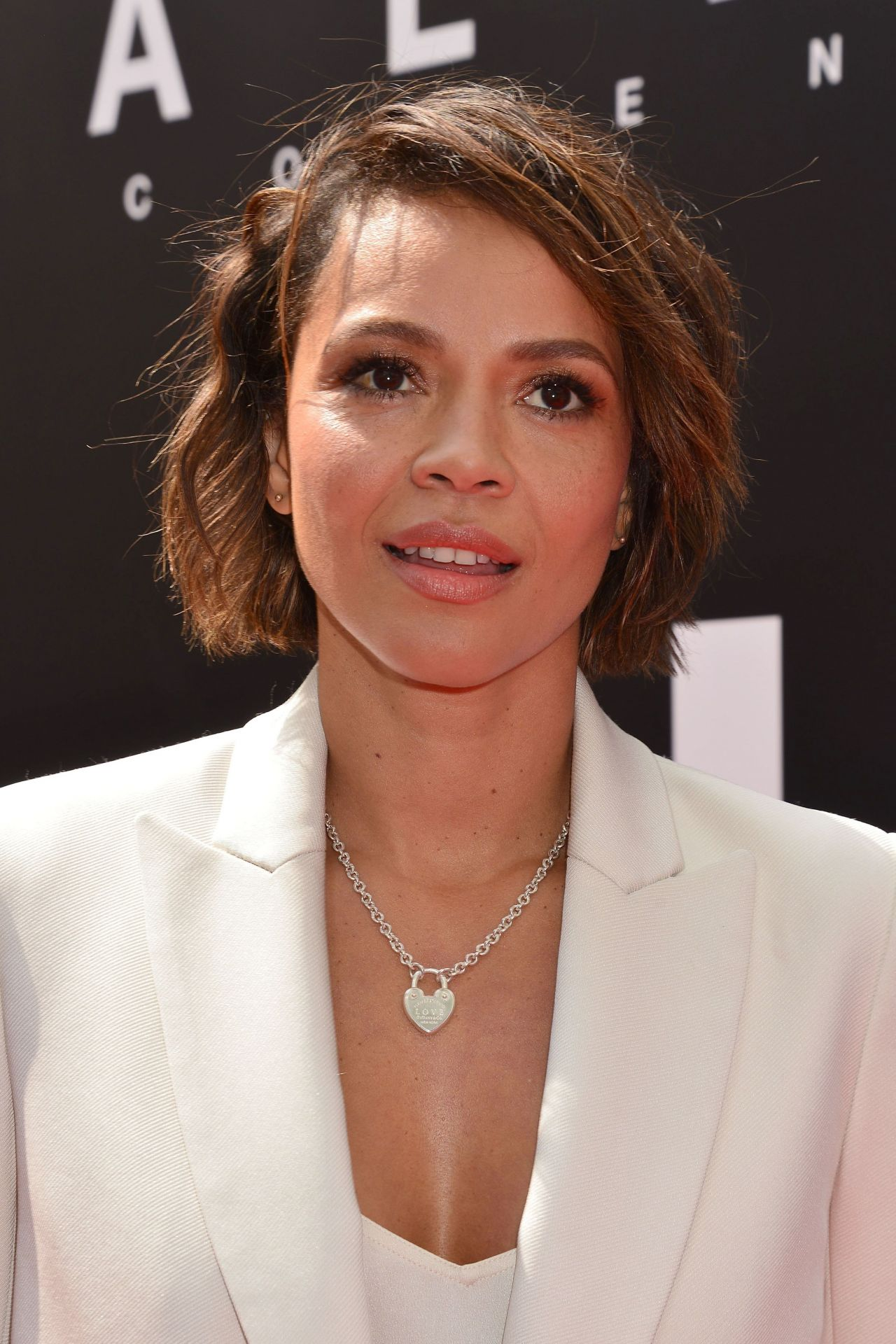 Carmen Ejogo At Sir Ridley Scott Hand And Footprint