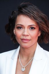 Carmen Ejogo at Sir Ridley Scott Hand and Footprint Ceremony in Hollywood 05/17/2017