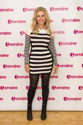 "Carol Vorderman - ""Lorraine"" TV Show in London 05/10/2017"
