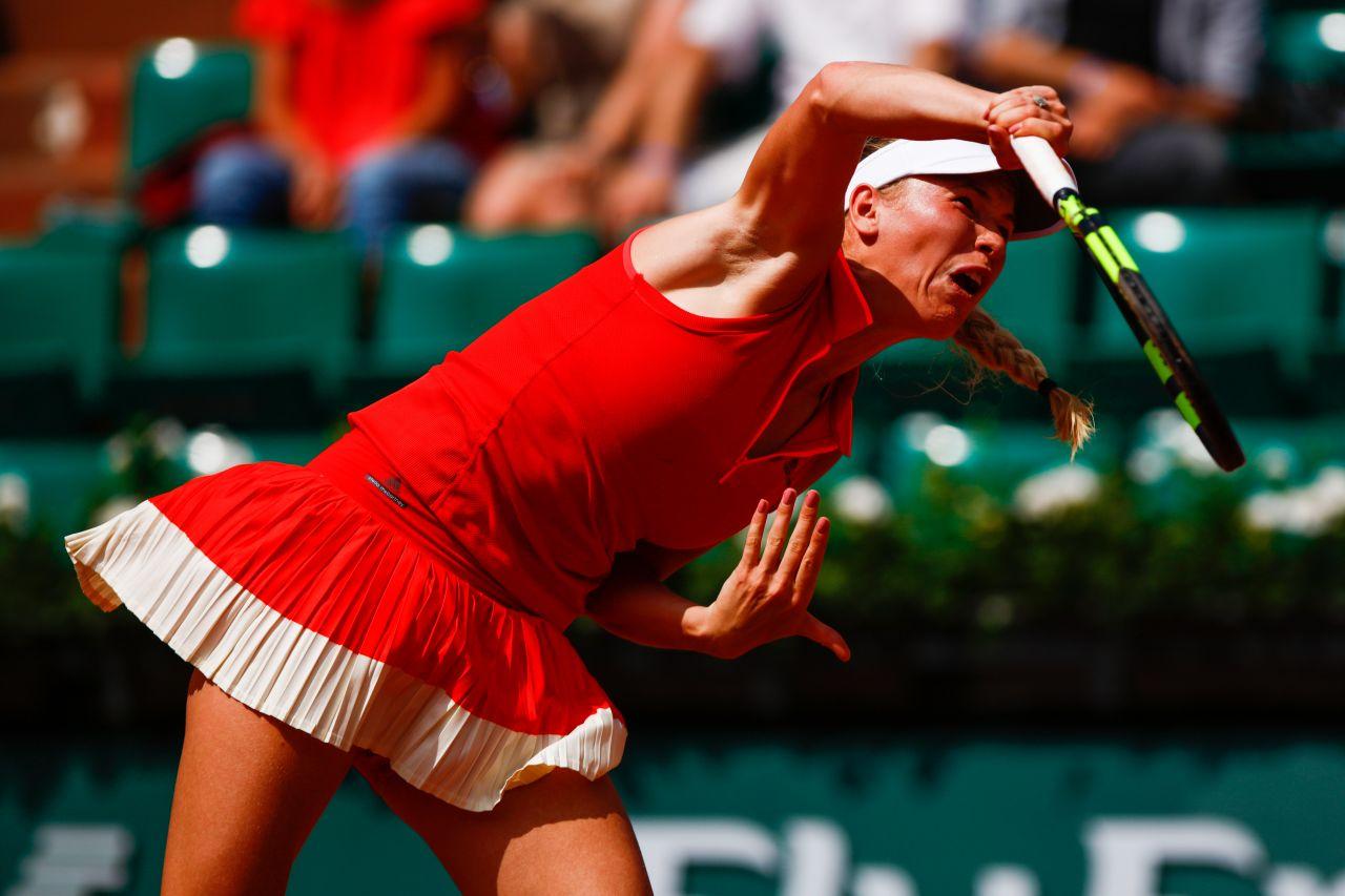 Caroline Wozniacki – French Open Tennis Tournament in ...