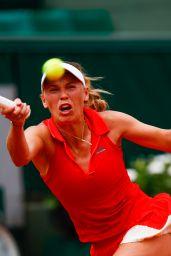 Caroline Wozniacki – French Open Tennis Tournament in Roland Garros, Paris 05/29/2017