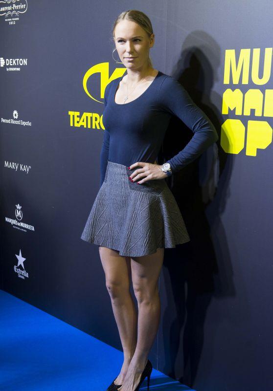 Caroline Wozniacki - Mutua Madrid Open Party at Teatro Kapital in Madrid 05/05/2017