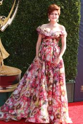 Carolyn Hennesy – Daytime Emmy Awards in Los Angeles 04/30/2017
